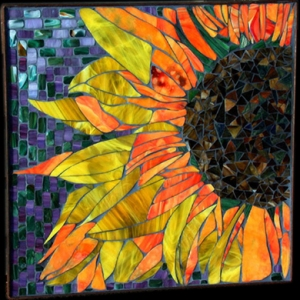 sunflower-mosaic